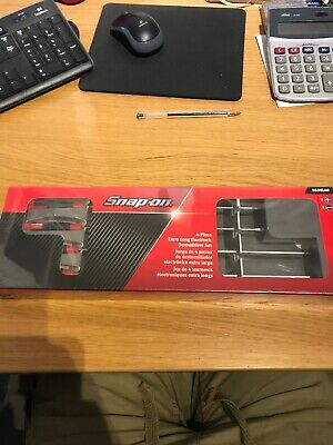 Snap On Extra Long Electonic Screwdriver 4 Piece Set NEW