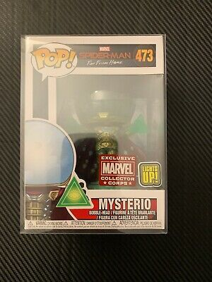 Mysterio Light Up Marvel Collector Corps  Spider-Man Far From Home Funko Pop 473