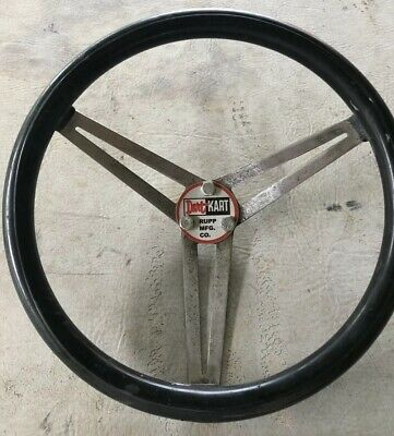 VINTAGE RACING GO Kart Rupp Steering Wheel Hub Coarse