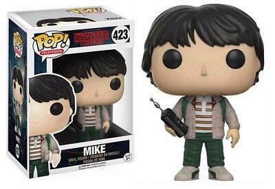 Stranger Things #423 - Mike with Walkie Talki  Funko Pop! Television (Brand New)