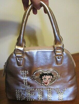 I LOVE BETTY BOOP 2014 King Features Syndicate PURSE Super BLINGY Great Cond!