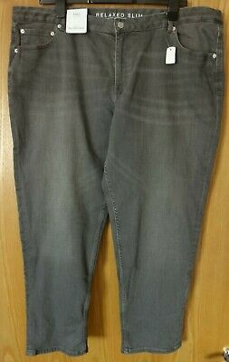 LADIES M/&S RELAXED SKINNY JEANS SIZE 22 REGULAR BNWT