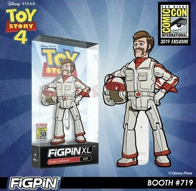 Figpin XL Toy Story 4 : Duke Caboom X20 SDCC Exclusive LE 750 2019 Pin Comic Con