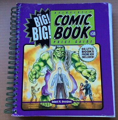 BIG! BIG! OVERSTREET COMIC BOOK PRICE GUIDE #34 (2004) Fine+