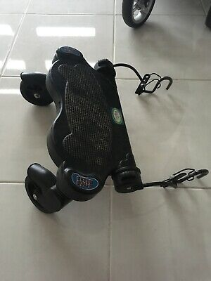 Valco hitchhiker board. Black. excellent condition. Previously used on Rebel q