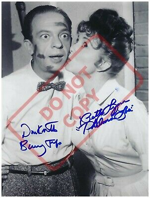 8.5x11 Autographed Signed Reprint RP Photo Don Knotts Betty Lynn