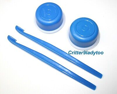 NEW Tupperware Smidgets and Citrus Peelesr Kitchen Gadgets Blue