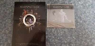 Middle Earth Shadow Of War Mithril Edition Ring Of Power Collector Items