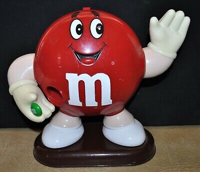 M & M Lolly Dispensers    - Red Collectable Figurine -