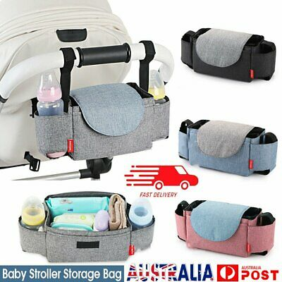 Baby Cup Pushchair Pram Buggy Storage Stroller Organiser Bottle Holder  Bag AU
