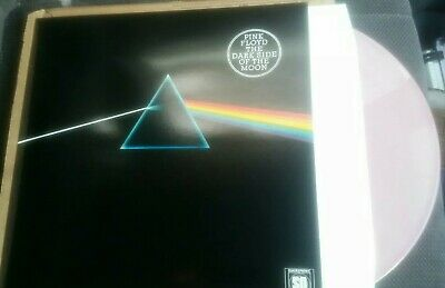 PINK FLOYD Dark Side of the Moon LP Record Original Coloured Vinyl 1993 Limited
