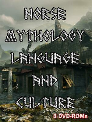 Norse Mythology, Language and Culture - 8 DVD-ROM boxed digital library