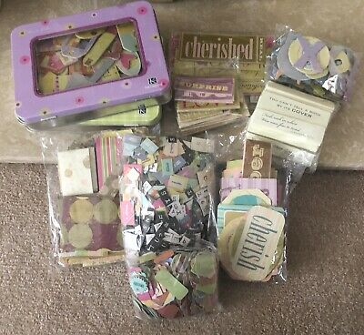 Craft Bundle Of Assorted Embellishments *WORDS, LETTERS & PHRASES* - *NEW* LOT15
