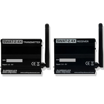 Earthquake Wireless Audio Transceiver With High-Level Input - SWAT2.4X