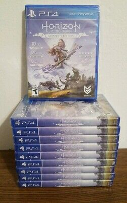 Horizon: Zero Dawn - Complete Edition (PlayStation 4, PS4,  2017) NEW & SEALED