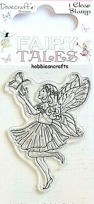 Lovebirds DCCS015 BIRDS IN BIRDCAGE Dovecraft Small Clear Cling Stamps