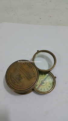 Captain Cabin Map - Compass W Magnifying- Glass Marine Navigation Instrument
