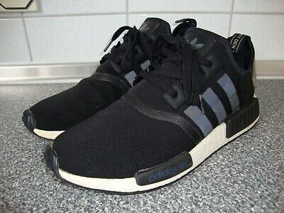 ADIDAS ORIGINALS NMD R1 Core BlackWhiteTrace Cargo Ba7251 Us 12 Eur 46 23