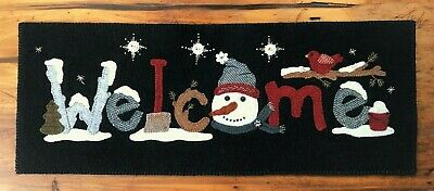 """Wool Applique Kit """"Welcome Thru The Year January """" Buttermilk Basin"""