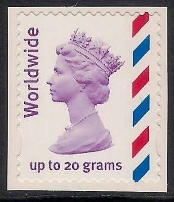 GB 2010 sg2358a Worldwide 20g NVI self adhesive booklet stamp MNH