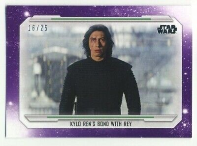 2019 Topps Star Wars Skywalker Saga- Base Parallel- #97- PURPLE- 16/25
