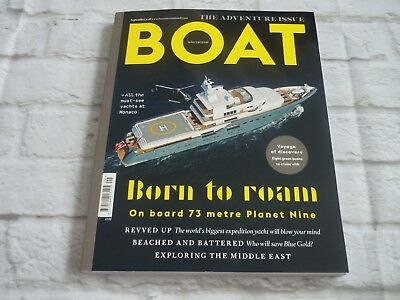 Boat magazine the adventure issue september 2018 320 page