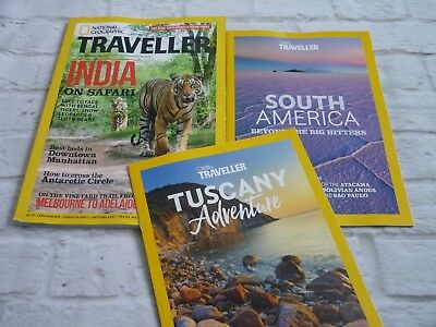 National geographic traveller magazine october 2018 + tuscany + south america