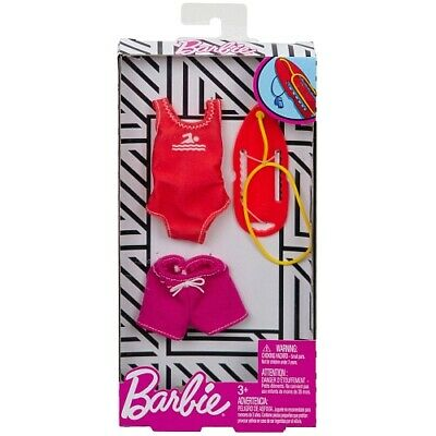 Barbie Doll Lifeguard Careers Fashion Pack Outfit Swimsuit Short Board