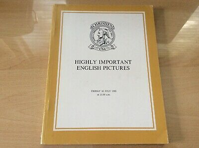 Christies - Highly Important English Pictures - Catalogue 16/07/82 Art 16Th/17Th