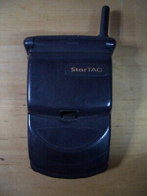 Telefono Movil Motorola Star Tac Startac Vintage Mobile Phone Gsm Mg2-4D11
