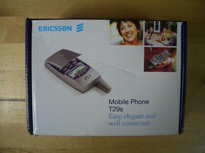 Ericsson T29S Sapphire Blue Mobile Phone Telefono Movil T29 S