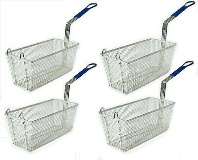 Commercial Large Frying Basket Deep Fryer Kitchen Takeaway Restaurant Chip Fish