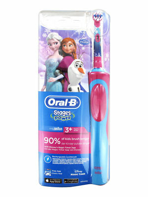 Oral-B Stages Power Kids Electric Toothbrush – Disney Frozen 3+years RRP £ 34.99