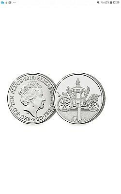 A-Z 10p Coins Unc from Royal Mint (2018) J - Jubilee