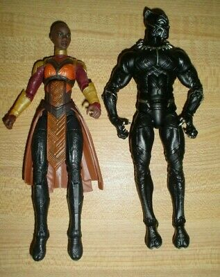 Marvel Legends Black Panther construire une figure BAF m/'baku Mbaku 100/% COMPLET 7/""