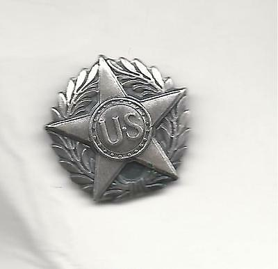 50 Silver WWI US HONORABLE DISCHARGE VICTORY LAPEL BUTTON star wounded