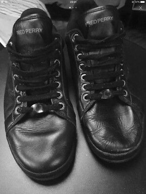 SCARPE SNEAKERS Shoes FRED PERRY vera leather pelle
