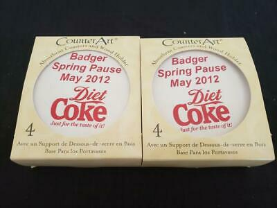 COCA-COLA DIET COKE Counter Art coasters