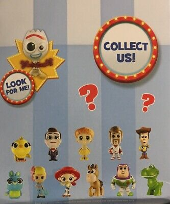 ALL 12 Toy Story 4 Mini 2019 SERIES 1 Disney Pixar Mystery Blind Bag Figures