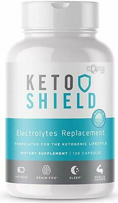 Electrolyte Replacement Keto Diet Energy Boost Salts Magnesium Sodium Calcium