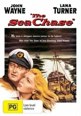 The Sea Chase (1955 Movie - Dvd Sealed + Free Post)