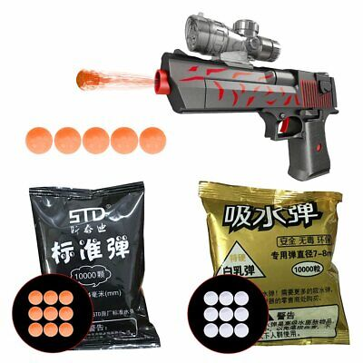 STD 7.4mm 50,000 GRADE Hardened Gel Balls AMMO Toy Gun Blaster 7-8mm Jinming P