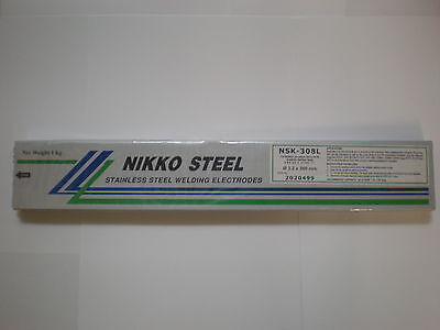 308L Stainless Steel 3.2mm x 350mm x 1kg Arc Welding Electrodes / Rods / Stick