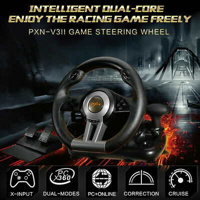 PXN - V3 Pro/V3II Racing Game Steering Wheel Brake Pedal for PC PS3 PS4 Xbox One