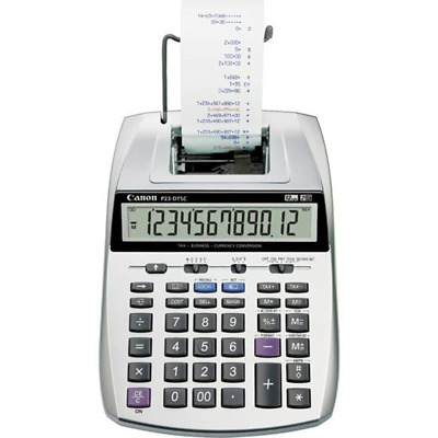 NEW IN BOX Canon P23-DTSC II 2-Colour Printing Calculator 12 Digits P23DTSCII