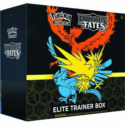 Hidden Fates Elite Trainer Box * Collector Tins * Pokemon