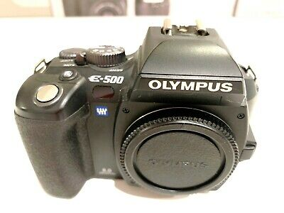 Olympus EVOLT E-500 8,0 MP DSLR - inkl Objektiv in OVP