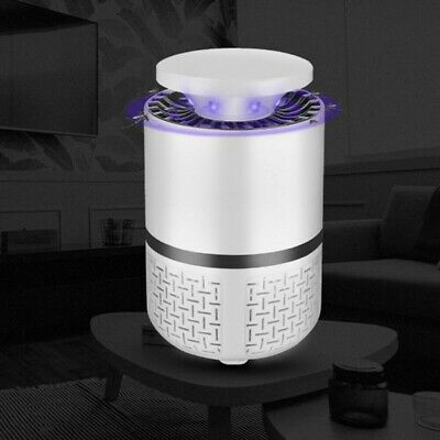 USB Lámpara LED Mosquito Killer Noiseless Mosquito Fly Trap Insect Bug Catcher