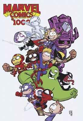 Marvel Comics #1000 (2019) Skottie Young Baby Variant Nm 8/28/19