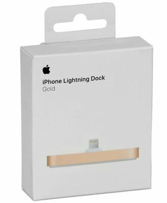 Apple MGQX2ZM/A mobile device dock station MP3 player / Smartphone Gold NEW